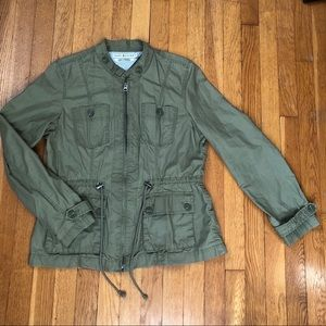 🍀 Tommy Hilfiger Army Green Utility Jacket